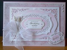 Using Spellbinders Majestic Labels