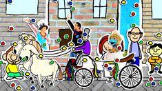 Hoela zingt over trouwen. Disney Characters, Fictional Characters, School, Art, Fantasy Characters