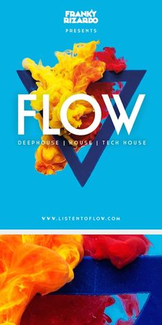 Flow Campaign by Studio Hands Flyer Design, Graphisches Design, Poster Design, Graphic Design Posters, Graphic Design Illustration, Graphic Design Inspiration, Banner Design, Typography Design, Layout Design