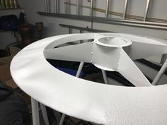 Tech - Sandblasting and painting the body Since we dismantled the telescope for technical enhancement, we also took the opportunity to repaint it. Mirror Box, Bring Up, Telescope, Opportunity, Tech, Painting, Home Decor, Decoration Home, Room Decor