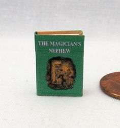 THE MAGICIANS NEPHEW Miniature ILLUSTRATED BOOK Dollhouse 1:12 SCALE BOOK NARNIA #LittleTHINGSofInterest