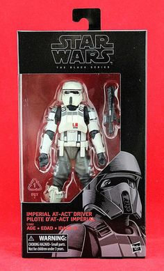 "Imperial AT-ACT Driver Rogue One Star Wars the Black Series 6"" Exclusive Figure #Hasbro"