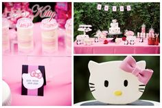 Hello Kitty sweets table