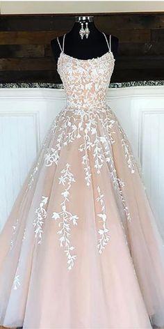 Cheap A-line Lace Beaded Spagheitt Straps Evening Prom Dresses, Evenin – Sposa. Cheap A-line Lace Beaded Spagheitt Straps Evening Prom Dresses, Evenin – SposaDresses Pretty Prom Dresses, Top Wedding Dresses, A Line Prom Dresses, Tulle Prom Dress, Wedding Dress Trends, Cheap Prom Dresses, Prom Party Dresses, Mermaid Dresses, Ball Dresses
