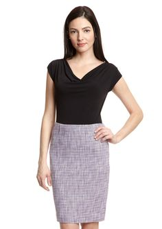 PREMISE Slim Skirt with Waist Darts