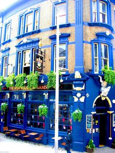 The Shipwrights Arms, London. It was built in 1884 and is now a Grade 2 listed building with an original tiled mural of the 'Shipwrights' at work.