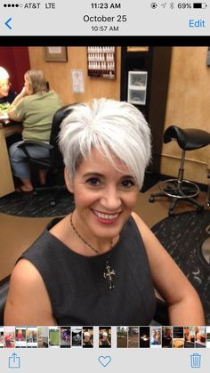 best short haircuts for women 2019 page 19 - kurzhaarfrisuren Short Hair Cuts For Women, Short Hairstyles For Women, Diy Hairstyles, Short Hair Styles, Short White Hair, Short Stacked Hair, Short Sassy Haircuts, Haircut Short, Haircut Styles