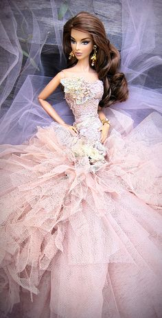 Beautiful gown barbie