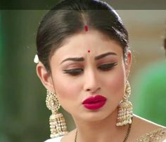 Luv her earrings!!!! - Mouni Roy Photographs  IMAGES, GIF, ANIMATED GIF, WALLPAPER, STICKER FOR WHATSAPP & FACEBOOK