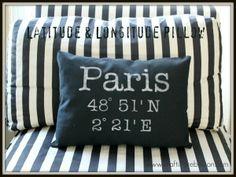 lat/long pillows.