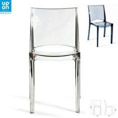 Židle FEMME FATALE - EVO transparentní, SLEVA -28%
