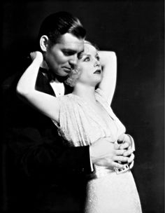 1932 Carole Lombard & Clark Gable in No Man Of Her Own