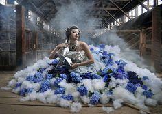 Blue Fairy by Brett Warren, via Flickr