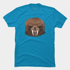 Saber Sloth T Shirt By Charlyminion Design By Humans