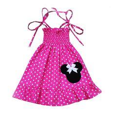 Pink Dot Minnie Mouse Dress