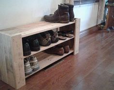 Estante del zapato plataforma tablero