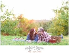 Ochs Orchard Engagement Photos - Amy Rizzuto Photography-32. Apple orchard engagement photo.
