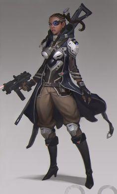 ArtStation - Black sniper, ㅇㅇ Joo