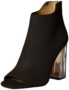 Calvin Klein Womens Lulah Bootie Black 75 M US *** More info could be found at the image url.(This is an Amazon affiliate link and I receive a commission for the sales)