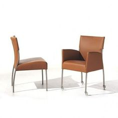 The MONET Chair, its smooth beautiful high quality leather is so comfortable, JOLI, deco and design
