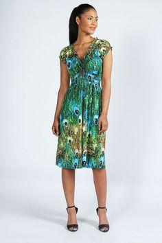 plus+size+28+peacock+dress | Peacock print prom dress : Peacock print prom dress under 100