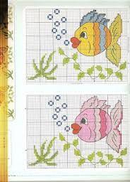 graficos de peixes em ponto cruz ile ilgili görsel sonucu