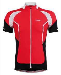 INSIDIA highly technical cycling road jersey by BL Bicycle Line (red / black / white)
