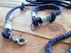 Dog Leash & Collar Set, Beach Leash, Custom Made, Matching Leash and Collar Collar And Leash, Collars, Blue Dog, Dog Leash, Big Dogs, Art Market, Snug Fit, Pugs, Slip On