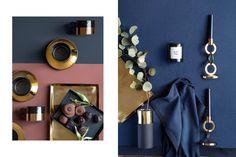 Бархатные подушки, металлические подсвечники, пушистые пледы и роскошные детали преобразят интерьер и сделают его более изысканным и эффектным!