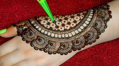 #hennahand #browhenna Back hand beautiful Engagement/Dulhan henna design - Simple and easy mehndi designs for hands Floral Henna Designs, Simple Mehndi Designs, Mehndi Designs For Hands, Hand Designs, Beautiful Love Pictures, Mehndi Simple, Mehndi Images, Flower Phone Wallpaper, Hand Henna