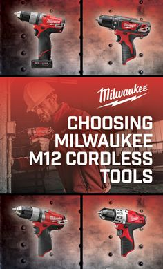 Work in confined spaces or anywhere space is at a premium with Milwaukee's M12 line of cordless tools. #Milwaukee #NBHD