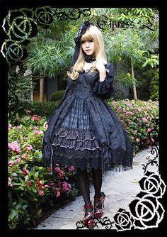 --> New Release: Elpress L ✙❤✙~Dark Angel~✙❤✙ Gothic Lolita OP Dresses and JSK --> Learn More >>> http://www.my-lolita-dress.com/elpress-l-dark-angel-gothic-lolita-op-dresses-and-jsk-el-20