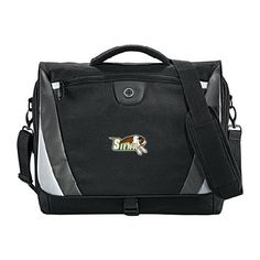 Siena Slope Compu Black/Grey Messenger Bag 'Official Logo' * You can find out more details at the link of the image. (This is an Amazon Affiliate link and I receive a commission for the sales)