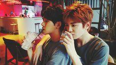 Hoya and Sungjong