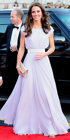 Catherine Middleton in Alexander McQueen