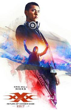 XXX Return of Xander Cage Hi-Res Movie Poster Kris Wu is Nicks