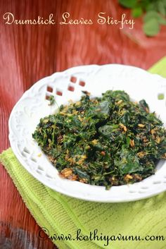 Today's featuring Muringayila-Muringya Ila Thoran Asian Cooking, Fun Cooking, Cooking Recipes, Vegetarian Food List, Vegetarian Protein, Indian Food Recipes, Ethnic Recipes, Kerala Recipes, Kerala Food