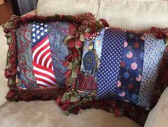 Suzanne tie pillows