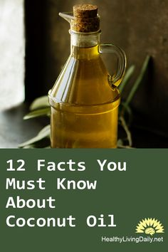 Read this article to find out more about the 12 facts that you must know about coconut oil. 🥥😮🤩👍👌  #coconutoil #coconutoilpulling #superfood #preventinfections #killshunger #reduceseizures #sunscreen #skinmoisturizer #increasesenergyexpenditure #abdominalfatreduction #lauricacid #hairdamageprotection #mouthwash #increasebrainfunction #ketones #mediumchaintriglycerides #longchainfattyacids #alzheimersdisease #healthylivingdaily #followme #follow