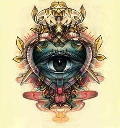 Fantastic design for a tattoo. #tattoo #tattoos #ink