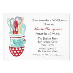 Kitchen Tools Bridal Shower Invitation Zazzle Com Bridal Shower Bridal Shower Invitations Shower Invitations
