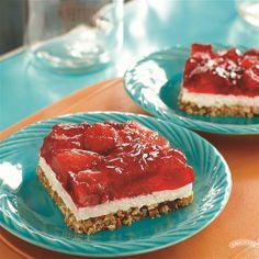 Strawberry Pretzel Dessert from Smucker's®