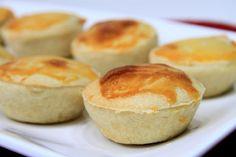 Empadinha de palmito Junk Food, Hamburger, Muffin, Pudding, Pasta, Bread, Breakfast, Quiches, Desserts