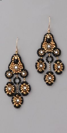 Miguel Ases  Pyrite Quartz Swarovski Earrings  Style #:MASES40029