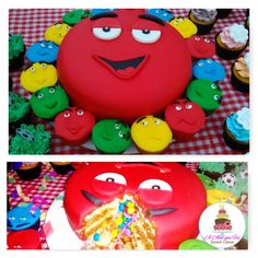 M&M`s Cake. Bolo M&M`s  #m&mscake #anaquefezsweetcakes #anaquefez
