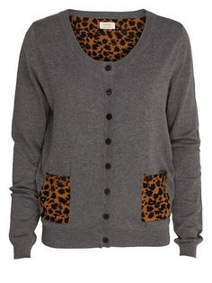 Nümph Scubby Knit Cardigan Grey. Price: 49 €. Available at www.seriebshop.com