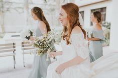 Bridal half up/half down