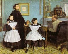 Edgar Degas - La famille Bellelli - Edgar Degas - Wikipedia, la enciclopedia libre