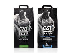 Cat Leader is a family of high-quality natural cat litter products by Geohellas. The family consists of 8 variants (classic, classic with wild nature aroma, clumping, clumping w. Food Branding, Food Packaging Design, Logo Food, Packaging Design Inspiration, Natural Cat Litter, Pet Supplements, Pet Shop Boys, Pet Fish, Pet Rabbit