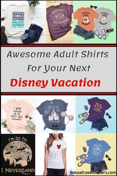 Adult Disney Themed T-shirts for the Bigger Kids There are tons of Disney shirts on Etsy – this post rounds up some of the best Disney shirts you can find out there for your next trip! Voyage Disney World, Disney World Planning, Disney World Vacation, Disney Vacations, Disney World Shirts Family, Disney Honeymoon, Disney Tips, Disney Magic, Disney Parks